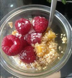 karibischer Quinoa-Kickstart