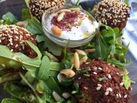 Falafel-Salat im Habba-Habba Berlin