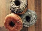 Donuts auf dem Vegan Street Day 2015 Dortmund