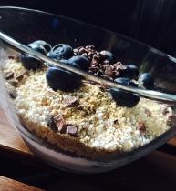 Heidelbeer-Proteinfrühstück