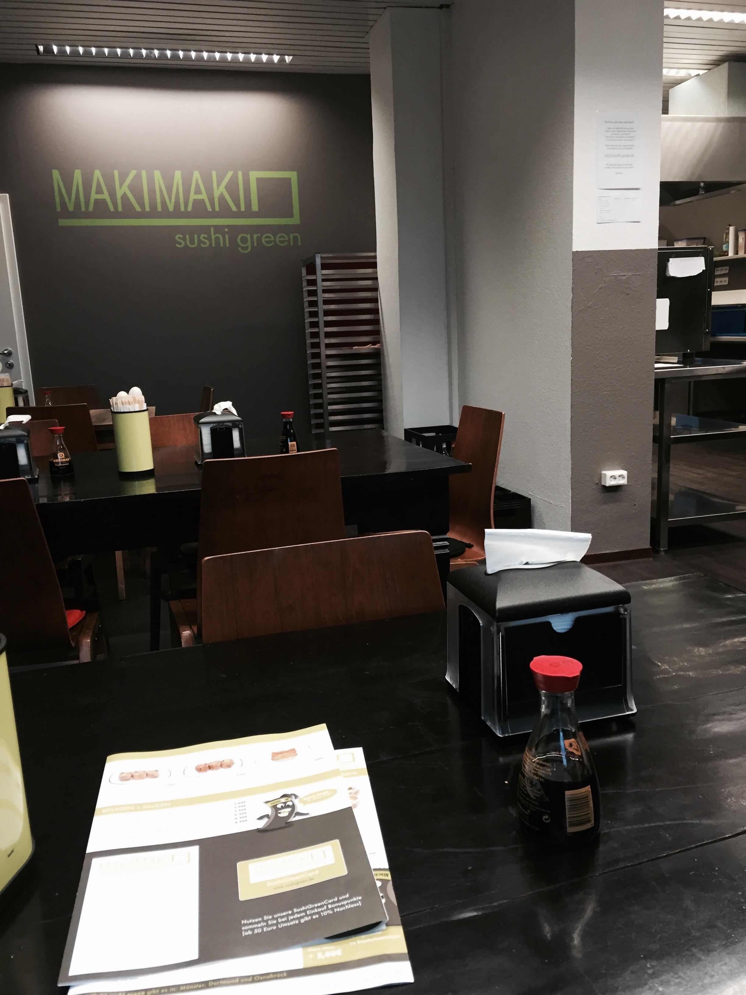 makimaki sushi green dortmund do vego vegan beim sport. Black Bedroom Furniture Sets. Home Design Ideas