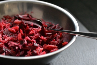 Red Raspberry Rice&Beetroot Bowl