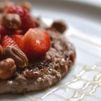 Der Morgen danach: Proteinpancakes.