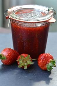 Erdbeer-Basilikum-Marmelade